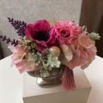 母の日2017シルバー花器アレンジP